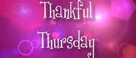 thankful thursday 2