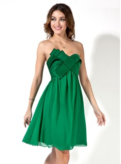 little green dress