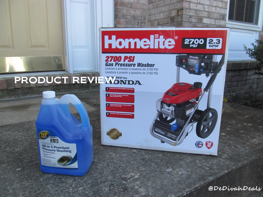 Homelite Pressure Washer Review