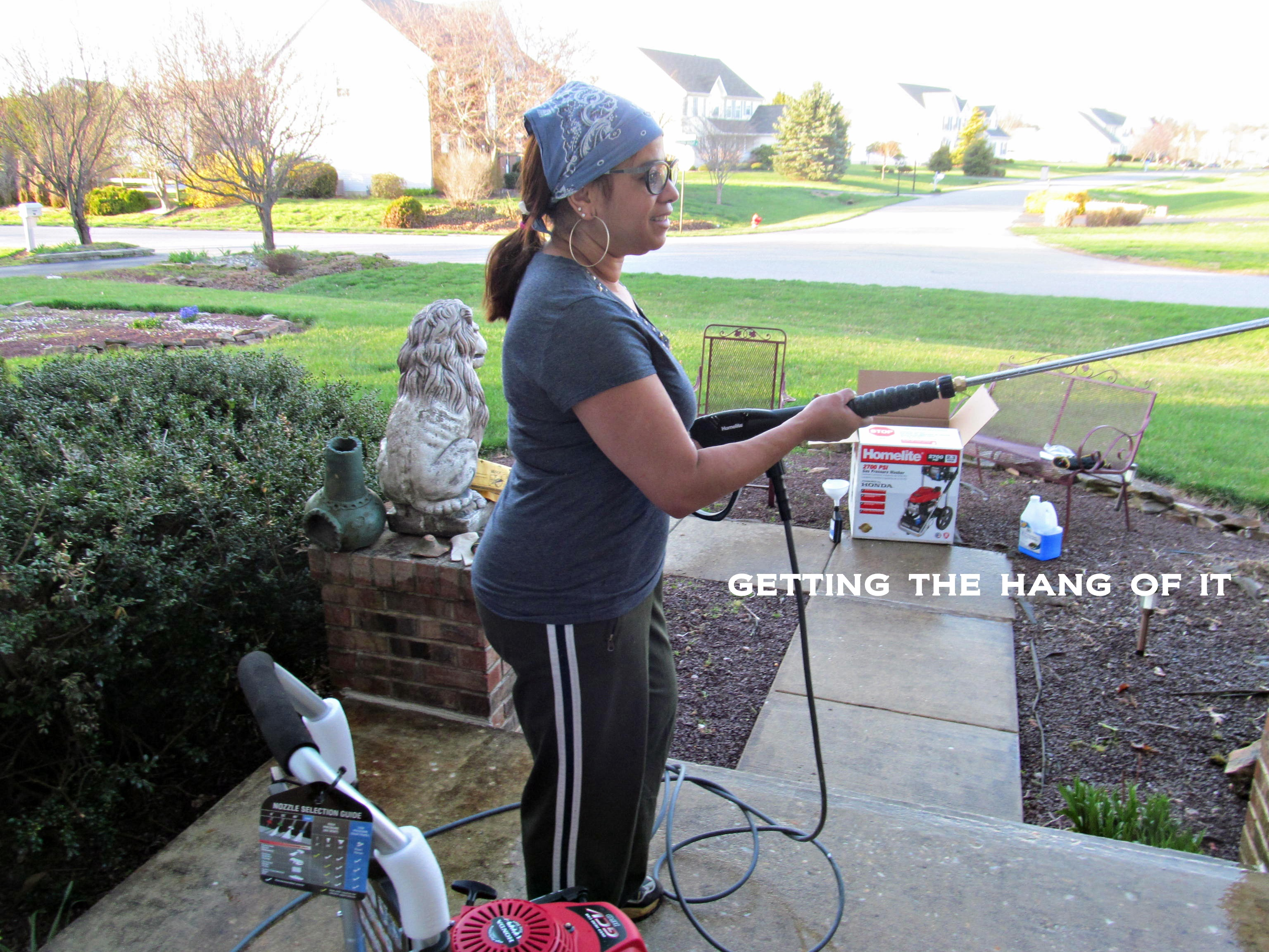 Homelite Pressure Washer Unsolicited Product Review