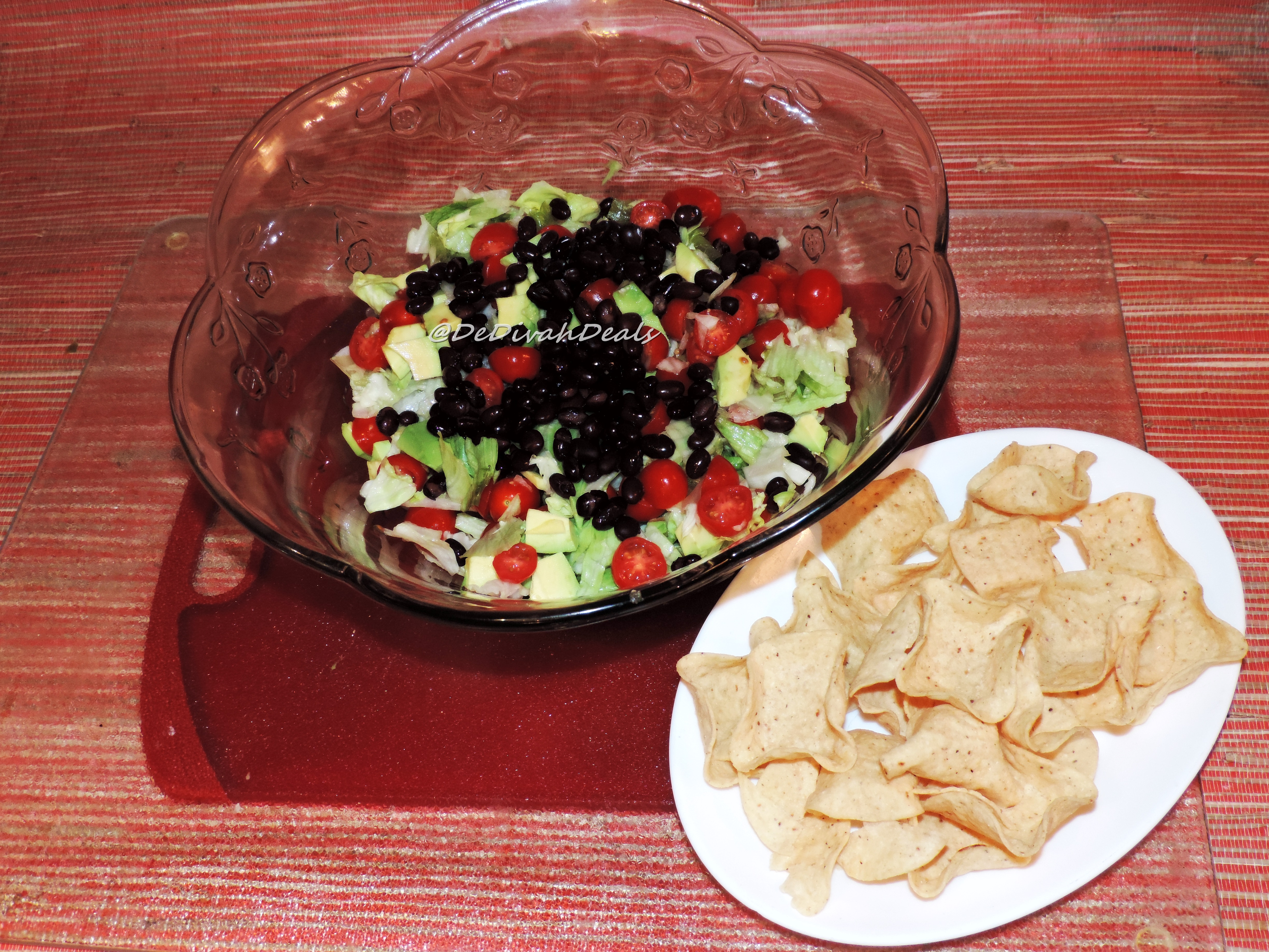 ... and black beans into a bowl and top with taco seasoned ground turkey