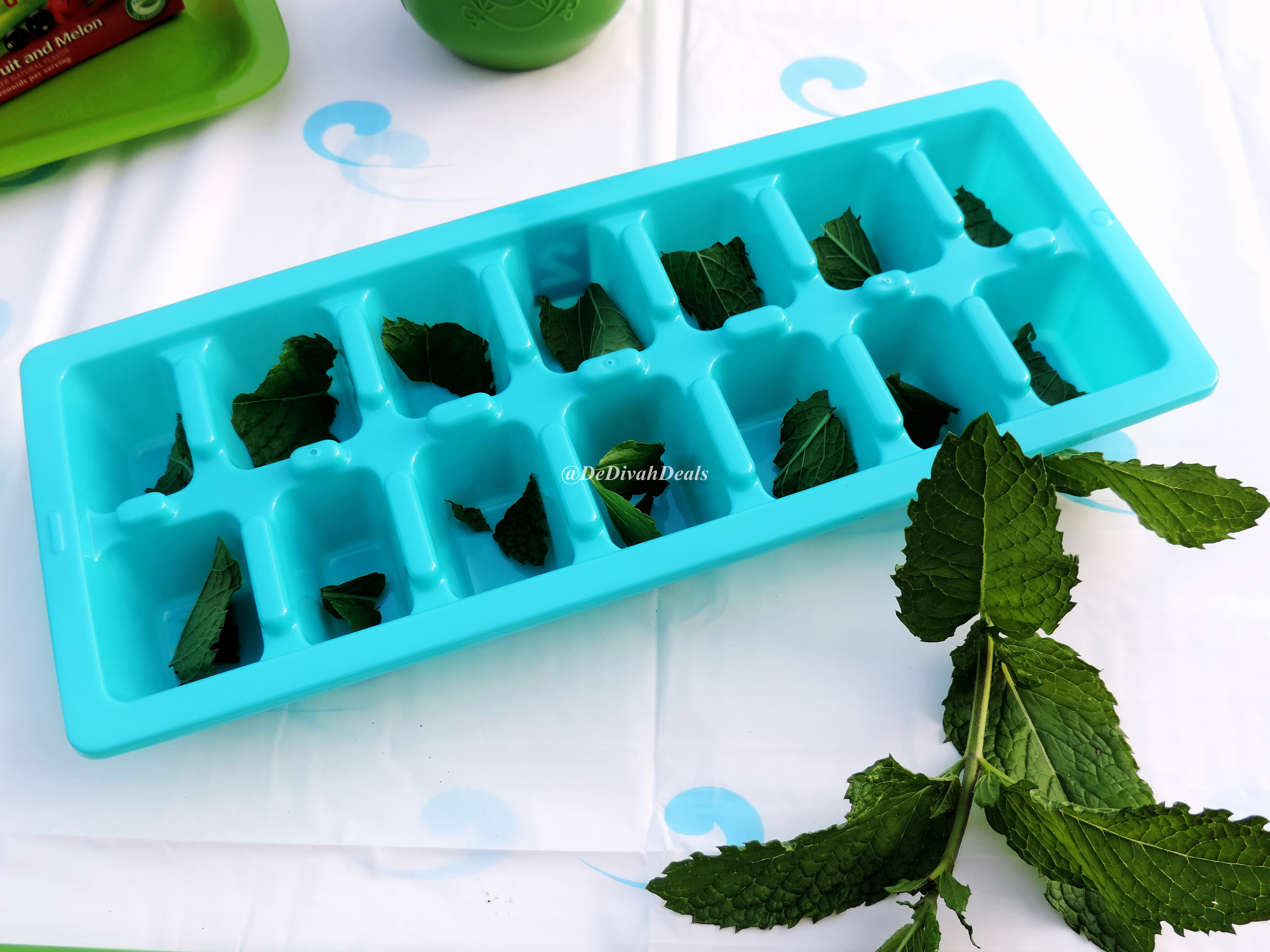 how to make iced tea with fresh mint leaves