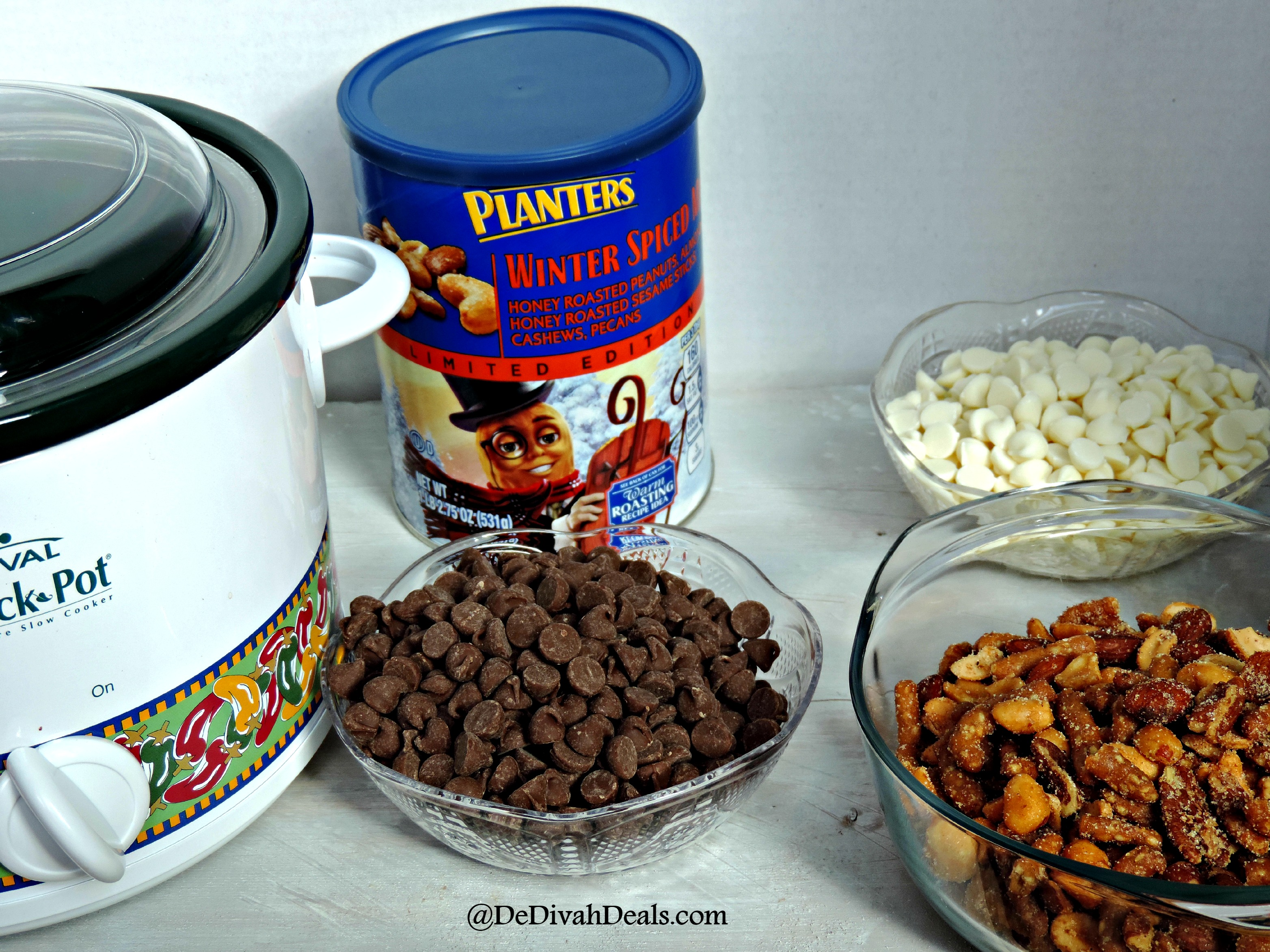 Crock Pot Chocolate Covered Nuts - Fashion and Fun after Fifty