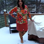 Snow and Suede Boots