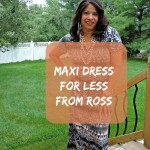 Maxi Dress for Less from Ross
